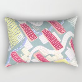 We Built This City Rectangular Pillow