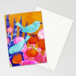 Cactus Birds Stationery Cards