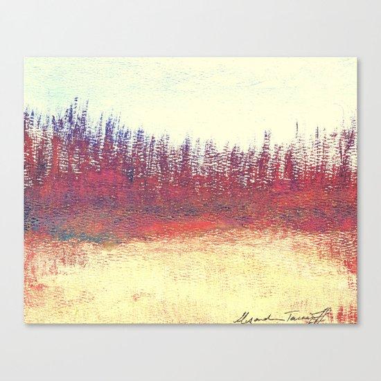 Maritime Lakeshore In Autumn Canvas Print