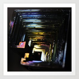 Handle Your Bismuth Art Print