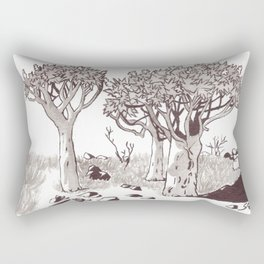 Quiver Tree Forest - Namibia Rectangular Pillow