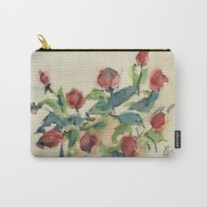 Roses 3 (watercolor) Carry-All Pouch