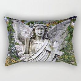 Angel with a Cross  Rectangular Pillow