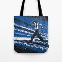 camel Tote Bags featuring Camel by Benedict Mayer