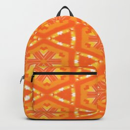 Orange and Yellow Stars and Hearts 9055 Backpack