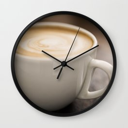 Creamy Coffee Wall Clock