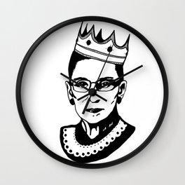 RBG Associate Justice Ruth Bader Ginsburg Wall Clock