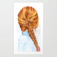 Hair I Art Print