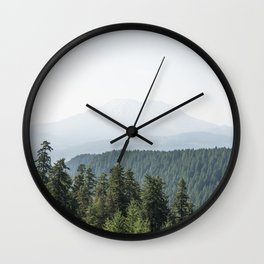 Lookout Ridge - Mountain Nature Photography Wall Clock