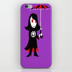 Little Vampire Girl iPhone & iPod Skin