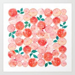 Summer fruit Art Print