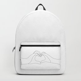 Hand Heart Backpack