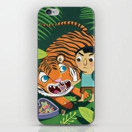 Cookie Tiger iPhone Skin