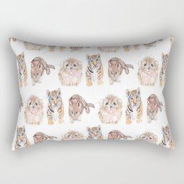 Cute animal pattern Rectangular Pillow