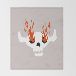 I see fire Throw Blanket