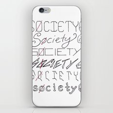 Six Society Sixes iPhone & iPod Skin