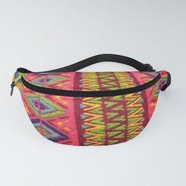Colorful Guatemalan Alfombra Fanny Pack