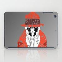rorschach iPad Cases featuring Rorschach by Rebecca McGoran