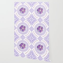 Victorian Flowers Wallpaper