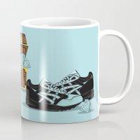 saga Mugs featuring Diamond Gel Lyte V & Saga by RaymondDesignz