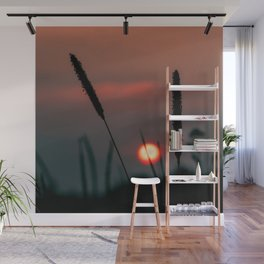 Glowing Sunset Wall Mural