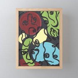 shaping feelings Framed Mini Art Print