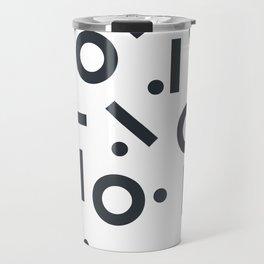 Geometric Pattern 03A Travel Mug