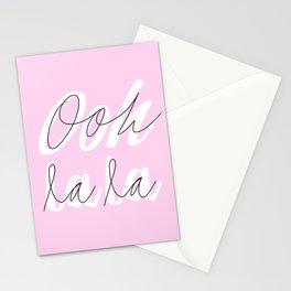 ooh la la Stationery Cards