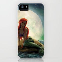 La Sirenita iPhone Case