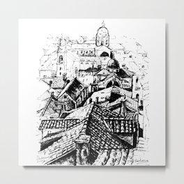 Dubrovnik View Metal Print