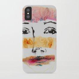 Head Shot #3 iPhone Case