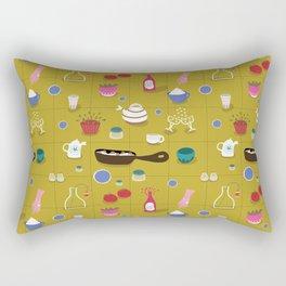 Dinner time - Fabric pattern Rectangular Pillow