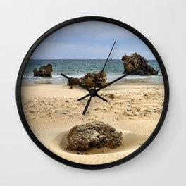 """Levante Wind"" BW. Tarifa beach Wall Clock"