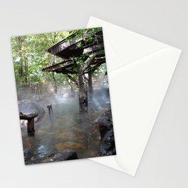 Tranquil onsen in Kurokawa Japan Stationery Cards