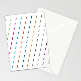 Rain patterns Stationery Cards