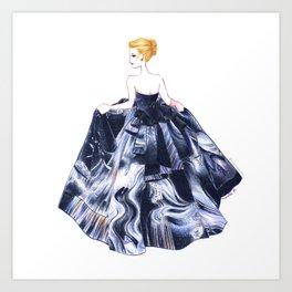 Nightgown Art Print