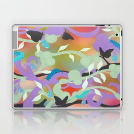 Black Butterflies Laptop & iPad Skin