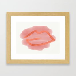 Chup Framed Art Print