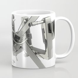 3d graffiti - 'Peak Coffee Mug
