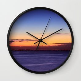 Twilight to Sunrise Wall Clock