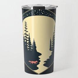 Moon Fox Travel Mug