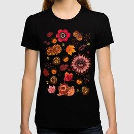 Fall Pug Medallion T-shirt