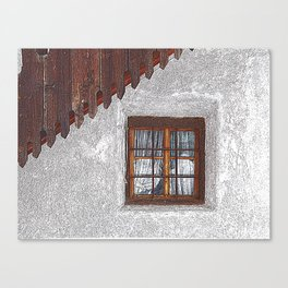 under the roof Canvas Print