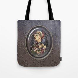 Marooned - Gothic Angel Portrait Tote Bag