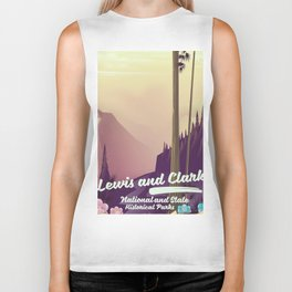 Lewis and Clark National & state historical parks Biker Tank