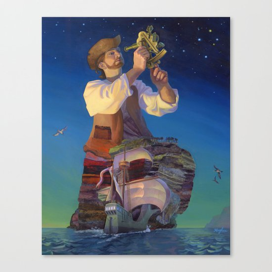 The Navigator's Gift Canvas Print