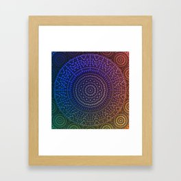 Mandala 43 Framed Art Print
