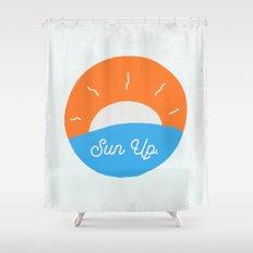 Sun Up Shower Curtain