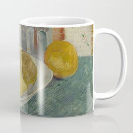 Carafe and Dish with Citrus Fruit Coffee Mug