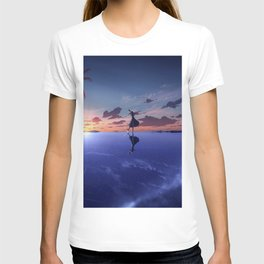 Girl Original Artwork T-shirt